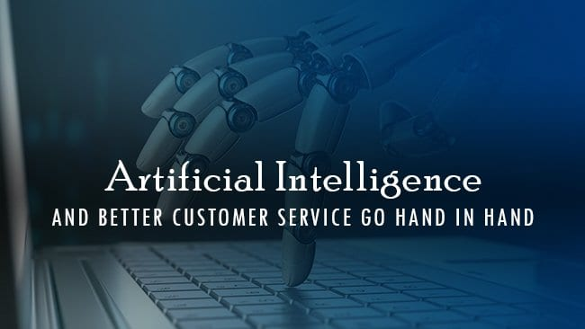 artificial intelligence and better customer service